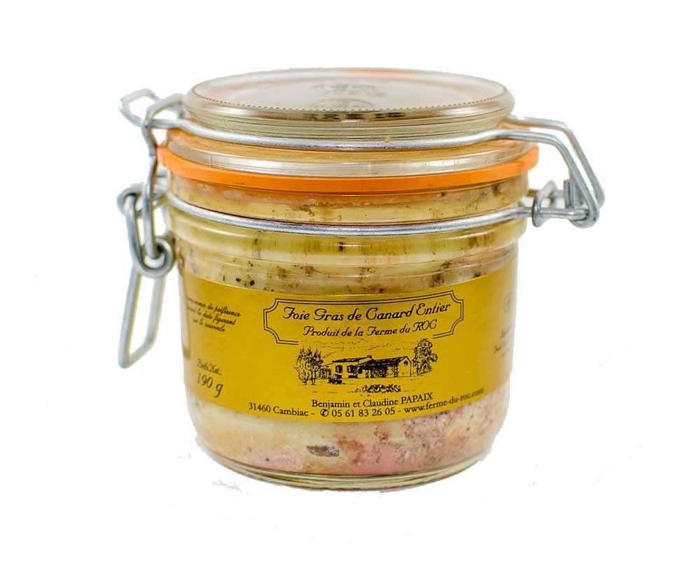 Foie gras de canard 190 g