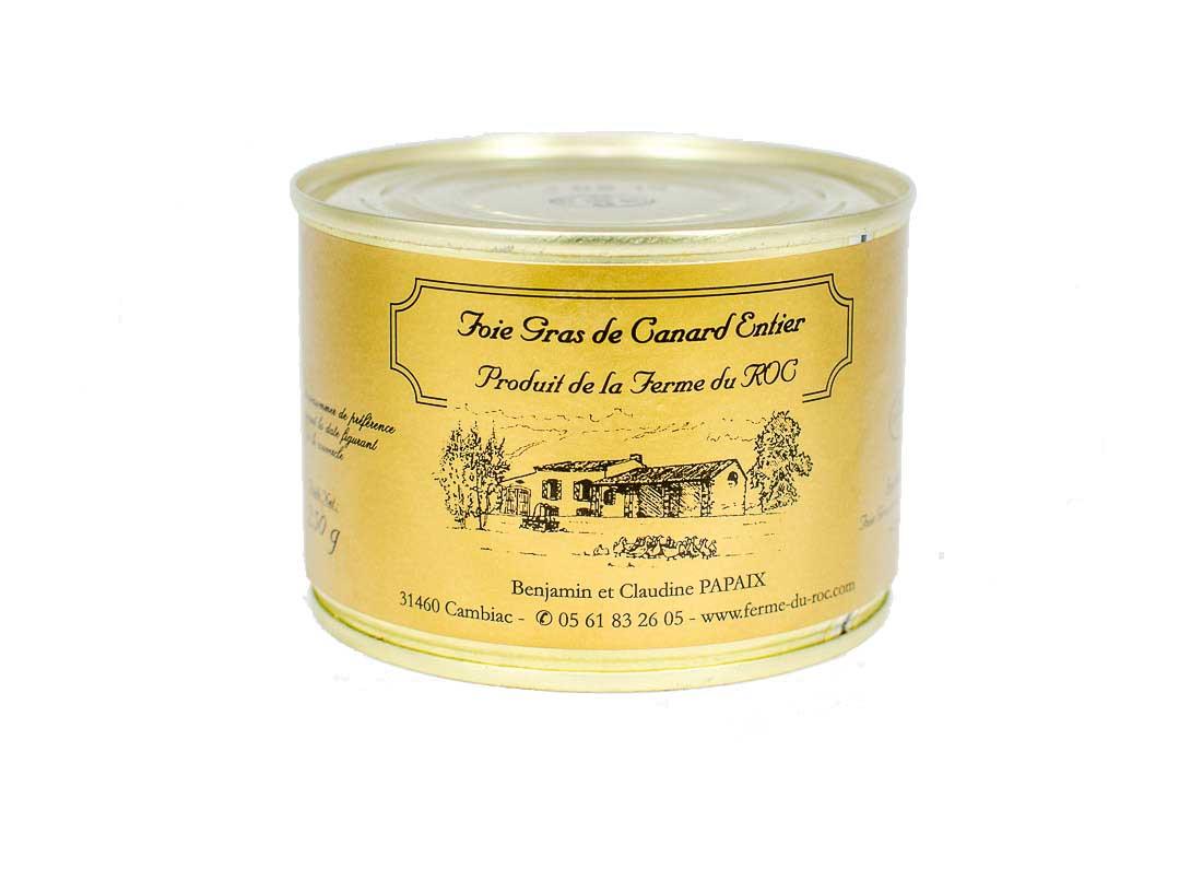 Foie gras de canard 250 g