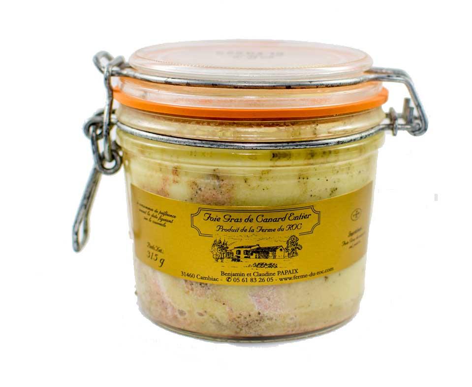 Foie gras de canard 420 g